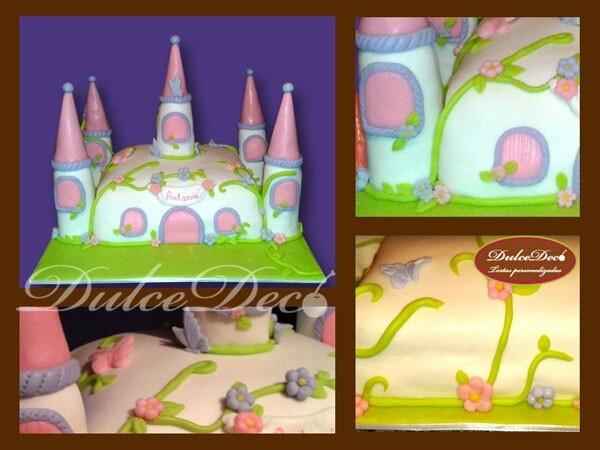 Torta Castillo princesa