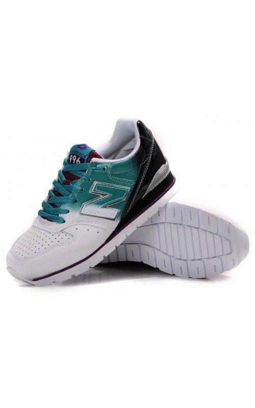 Green White Black Running Girls Shoes NB996 Discount. New Balance ...