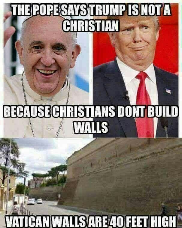 The pope is not a Christian, he is beelzebubs host if not the fallen angel himself. I will stand behind my Saviour, Yeshua , as he burns your Kingdom down and I will see you on your knees before the King of Kings.