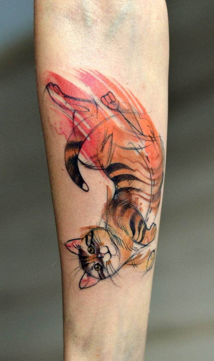 Nice Colorful Animal Tattoos – Fubiz Media