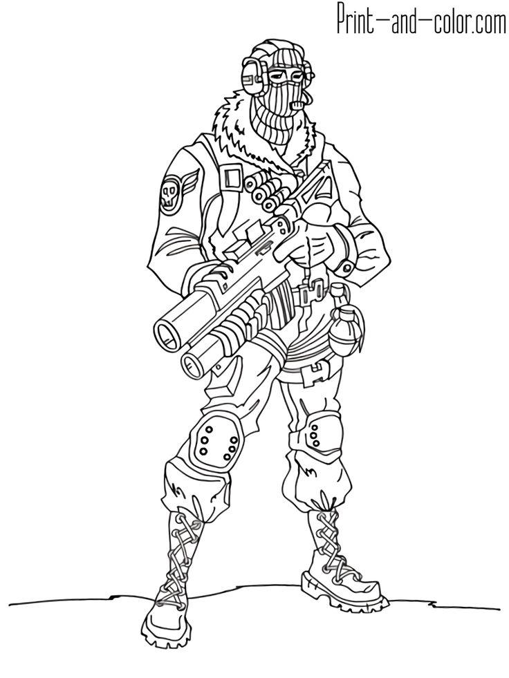 Fortnite battle royale coloring page Raptor fortnite in