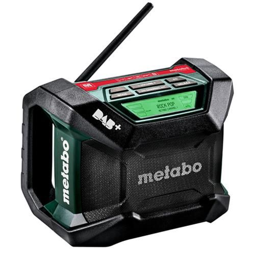 Metabo Dab Radio R12 18bt Dab Digital Radio W Bluetooth 12 18v Site Radio Digital Radio Radio
