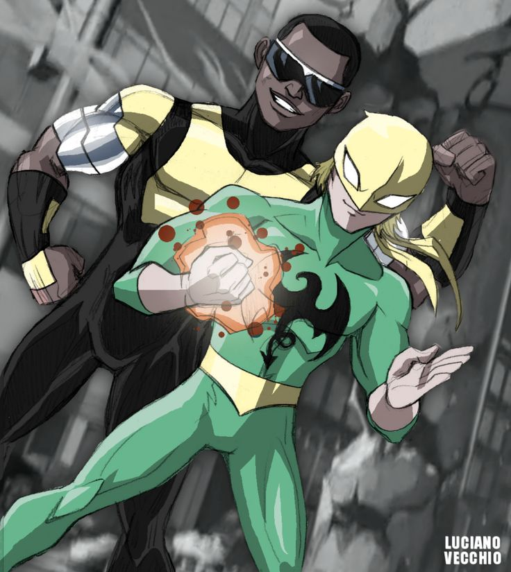 Ultimate Heroes For Hire by LucianoVecchio.deviantart.com on @DeviantArt