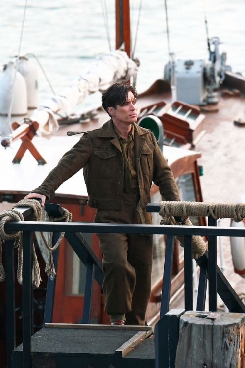 All aboard! On the set of Dunkirk, July 28 2016