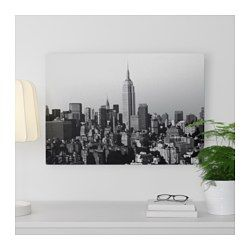 IKEA - KOPPARFALL, Picture, You can personalize your home with artwork that expresses your style.