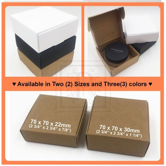 10pcs – Soap Boxes, Cosmetic Boxes, Wedding Favor Boxes, Party Favor Boxes, Holidays Gift Boxes, Jew
