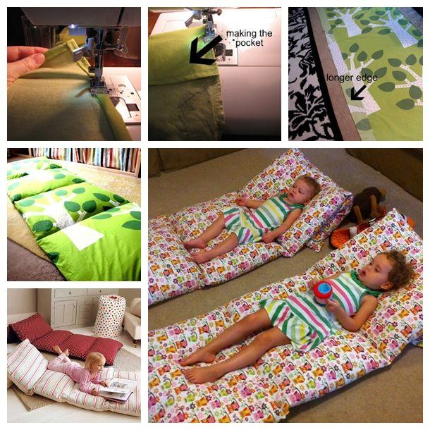 Wonderful Diy Pillow Mattress For Kids Pillow Beds