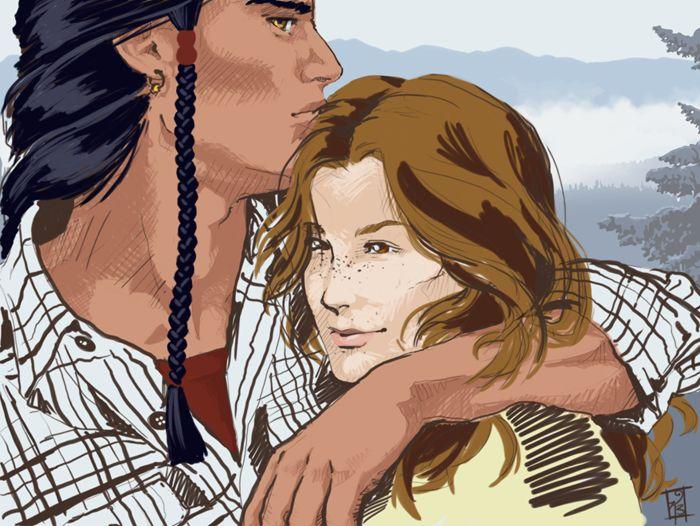Charles & Anna - Alpha & Omega - patricia briggs | Tumblr