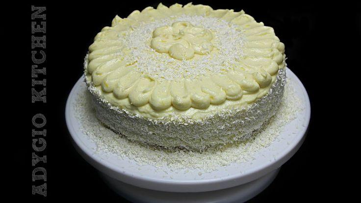 Tort Alba ca Zapada   Retete de tort Adygio Kitchen #adygiokitchen