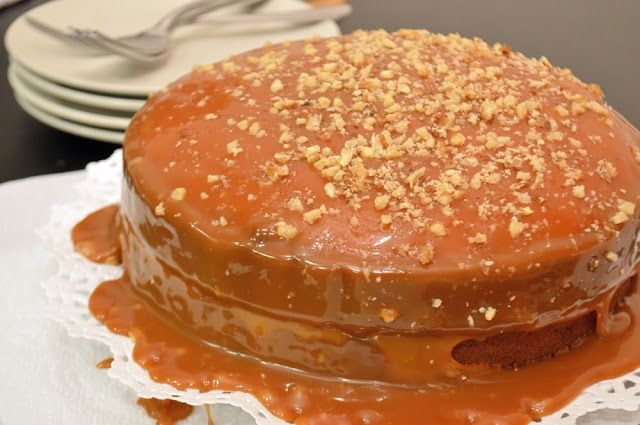 Browned Butter Caramel Cake - AWARD WINNING CAKE- the best cake I've ever had, even non-caramel lovers loved it!!!  PINW NOW! - @cawalnuts #sosimplesogood