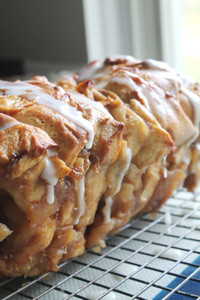 Apple Fritter Bread | The Spiffy Cookie