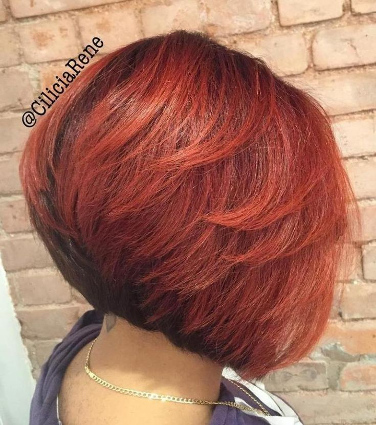 inverted bob hair style 60 showiest bob haircuts for black bob bobs 2413