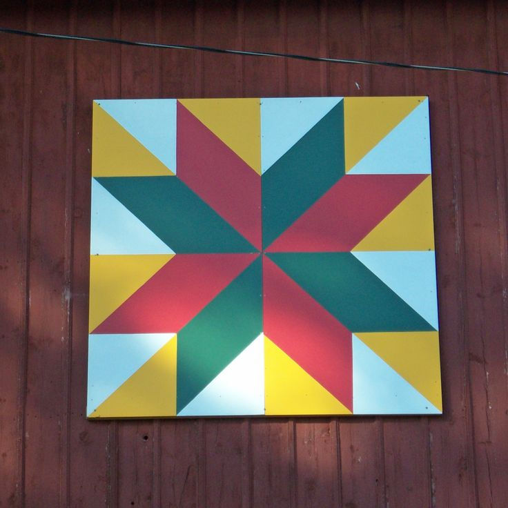 Barn Quilt Patterns To Paint | Quilt Pattern: Windmill Star