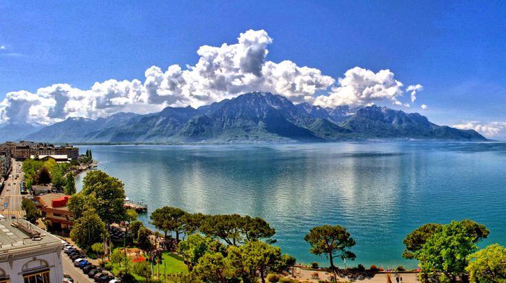 Montreux, Switzerland   Places I'd Like to Go   Pinterest