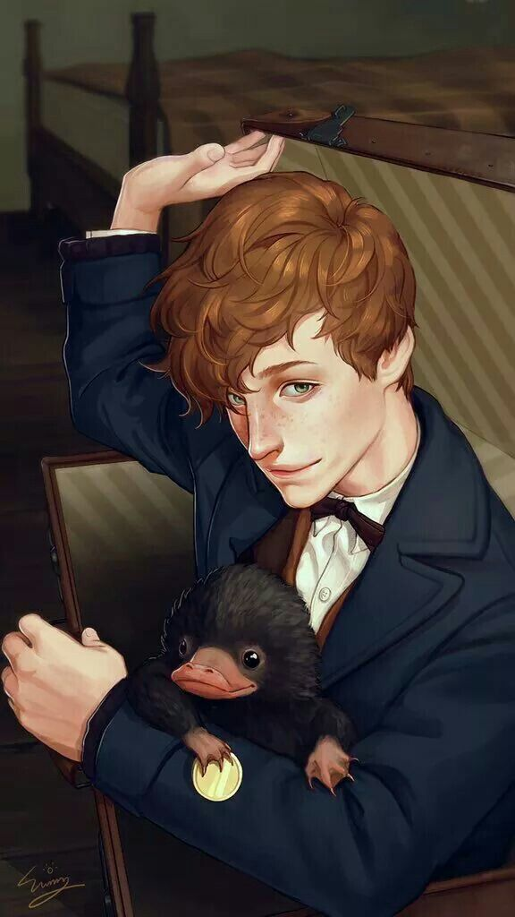 Newt and the Niffler fan set 9
