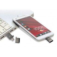 ΑΠΟΘΗΚΕΥΣΗ DRIVE ΓΙΑ ΣΥΣΚΕΥΕΣ ANDROID PQI-32GB CONNECT 201 USB ΚΑΙ MICRO USB OTG