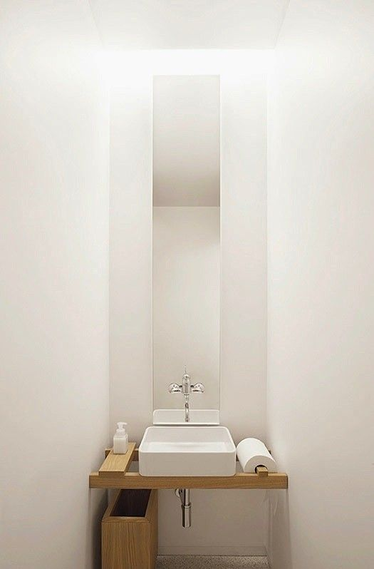 Clever custom sink: A2BC White Bath/Remodelista