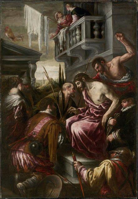 Ο εμπαιγμός του Χριστού (1580-89) Μουσείο Καλών Τεχνών Βοστόνης