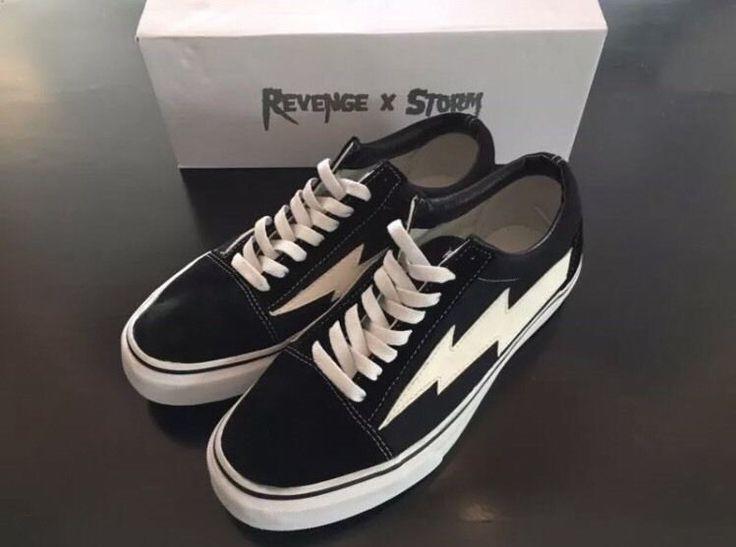 Revenge X Storm Vans Old school | Clothing, Shoes & Accessories, Men's Shoes, Athletic | eBay!