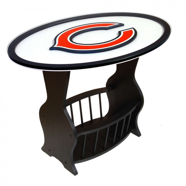 Fan Creations NFL Logo End Table NFL Team: Chicago Bears   N0537 CHI