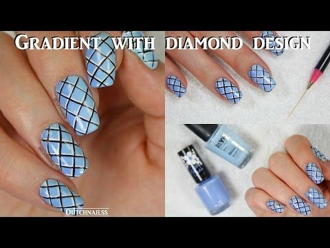 59 best video tutorials nail art design ideas images on 143 gradient with diamond design dutchnailss youtube simple nail designssimple nail artssimple prinsesfo Gallery
