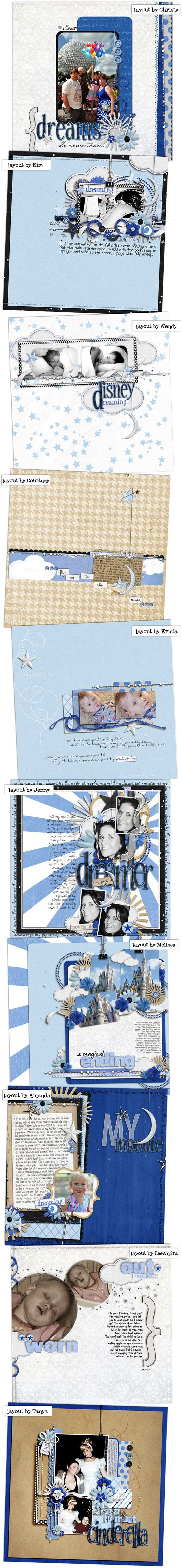 Cute Home to digital scrapbook designer Brittney Leavitt aka Britt Britt shares digital scrapbooking