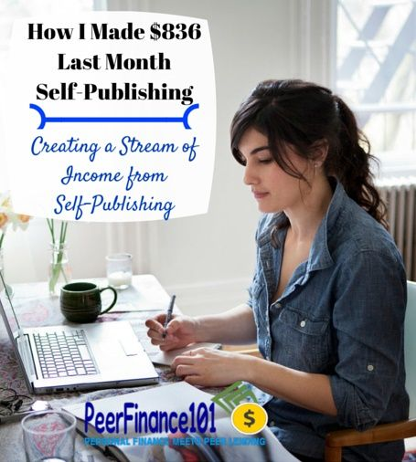 Learn how to make money self-publishing books on Amazon. I've gone from $0 to over $800 a month in less than a year self-publishing on Amazon.