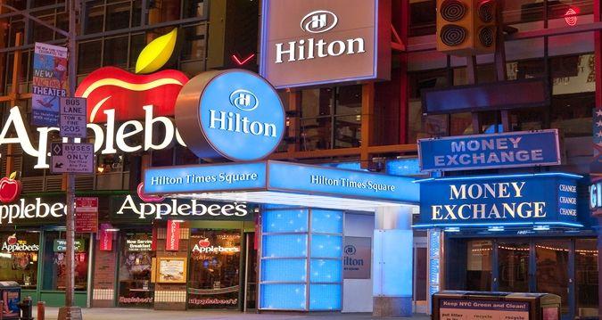 Hilton Times Square Hotel, New York, NY - Hotel Exterior  | NY 10036
