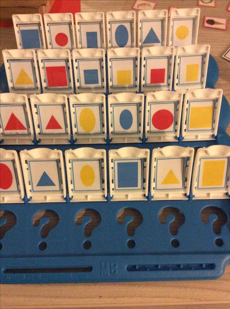 Wat is het? Met vormen en kleuren. Bron jufsanne *liestr*
