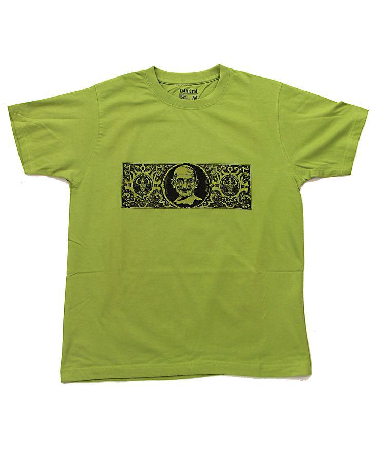 Gandhi Retro, Men | Tantra Tshirts USA - India on a Tshirt