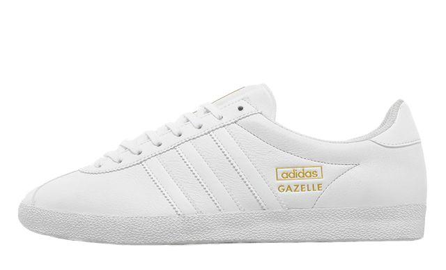 Gazelle Adidas White