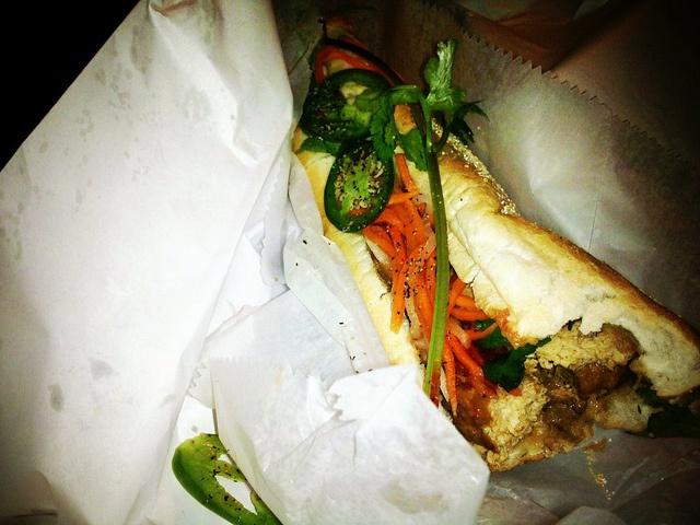 Tofu Hoagie from Fu Wah, Philadelphia like i said. by lauriebreaker, via Flickr