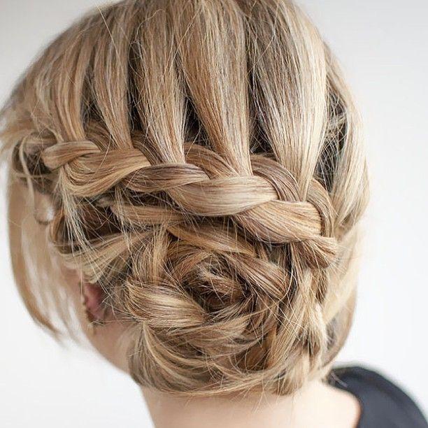 Pretty braid by hairromance.