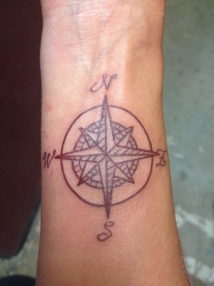Pictures Of Simple Compass Rose Tattoo Kidskunstinfo