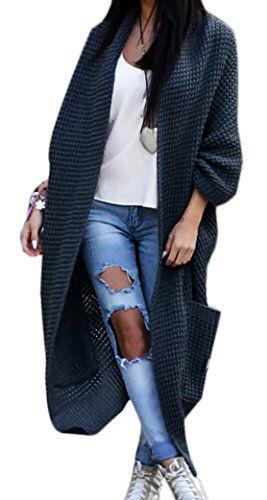 Damen-Strickjacke-Pullover-Pulli-Jacke-Oversize-Boho-S-M-L-XL-629-0