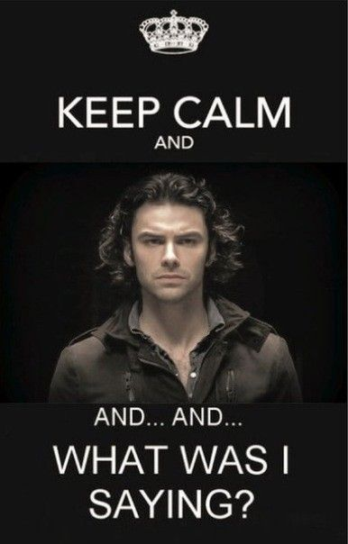 Keep Calm - Aidan Turner / The Hobbit.... I think I'm going to die!!!!!!!!