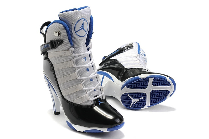 Michael Jordan High Heel Tennis Shoes