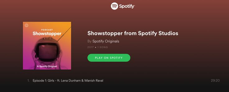 Spotify launches new original podcasts     - CNET Spotifys first original podcast focuses on music on TV.                                                      Screenshot/Xiomara Blanco                                                  Spotify is no stranger to podcasts but now the streaming music giant is ready to offer its own original material. Today the company announced three new original podcasts thatll give music fans a little something extra to chew on with more original programming…