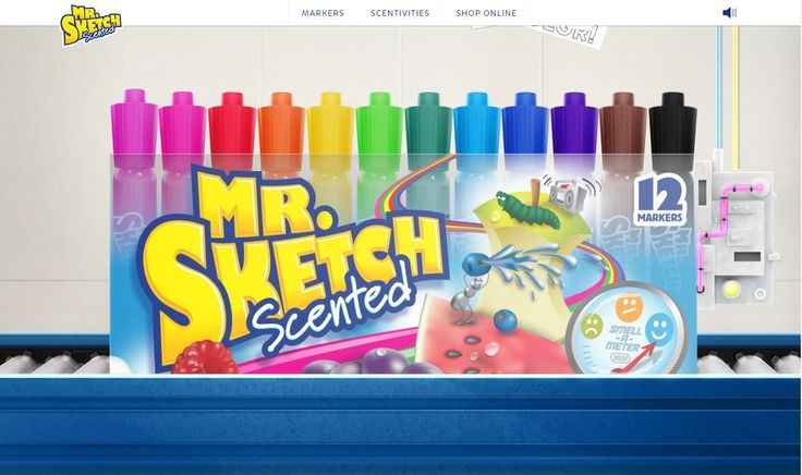 Grape-scented Mr. Sketch markers make a comeback.