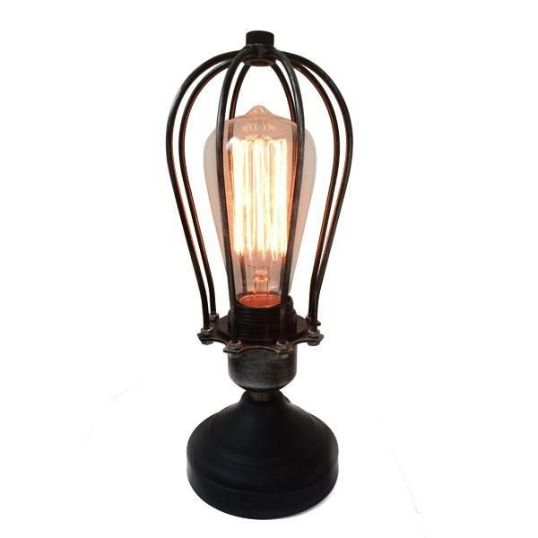 Item Weight: 3 pounds Product Dimensions: 4.5 x 10.5 inches Style: Antique, Industrial, Vintage Color: Black-Silver Number of Blades: 1 Material: Metal, Wrought iron Finish: Matte Number of Lights: 1 Included Components: Shade included Maximum Compatible Wattage: 60 watts Voltage: 120 - 220 volts Specific Uses: Indoor use only Diameter of Lampshade: 4 inches Light Direction:Uplight Power Source: corded-electric Type of Bulb: Incandescent, Edison (Vintage-Industrial) bulbs.   LAMPHOLDER…