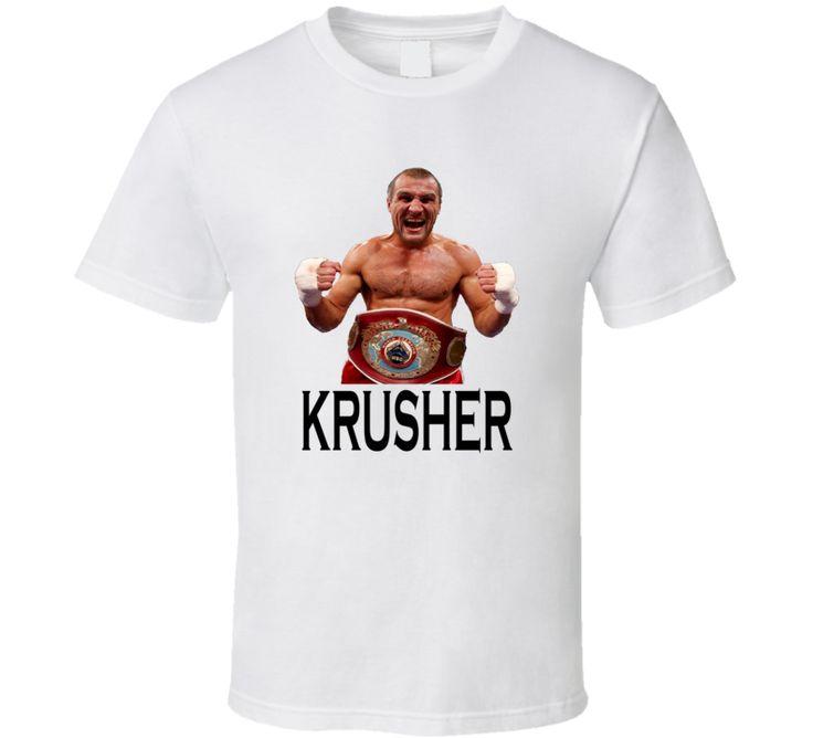Sergey Kovalev Krusher Champion Boxing T Shirt