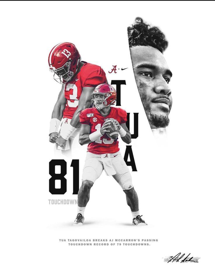 More 2019 A Day Crimson Tide Football Schedule Alabama Poster Tua Tagovailoa