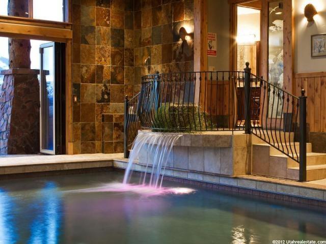 Park city indoor pool cool utah homes luxury homes for Pool design utah