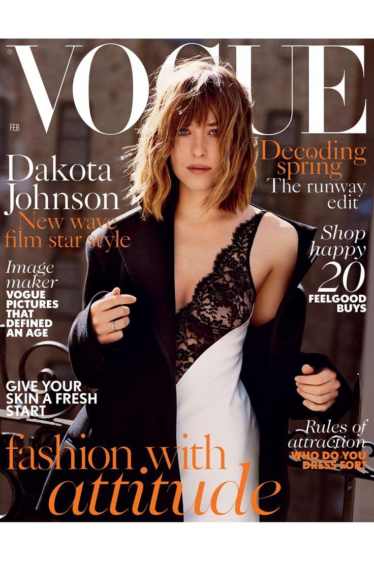 Dakota Johnson: February 2015 cover