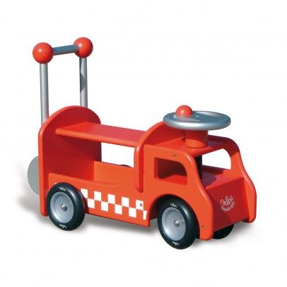 Ride-on fire truck Red  Vilac