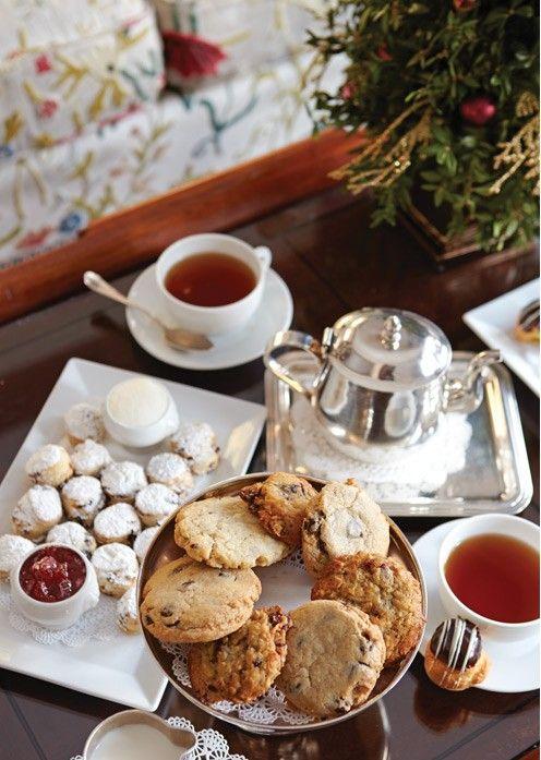 Winter tea time…