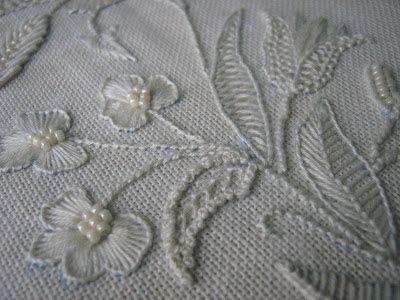 ELLA'S CRAFT CREATIONS: Whitework texture..............