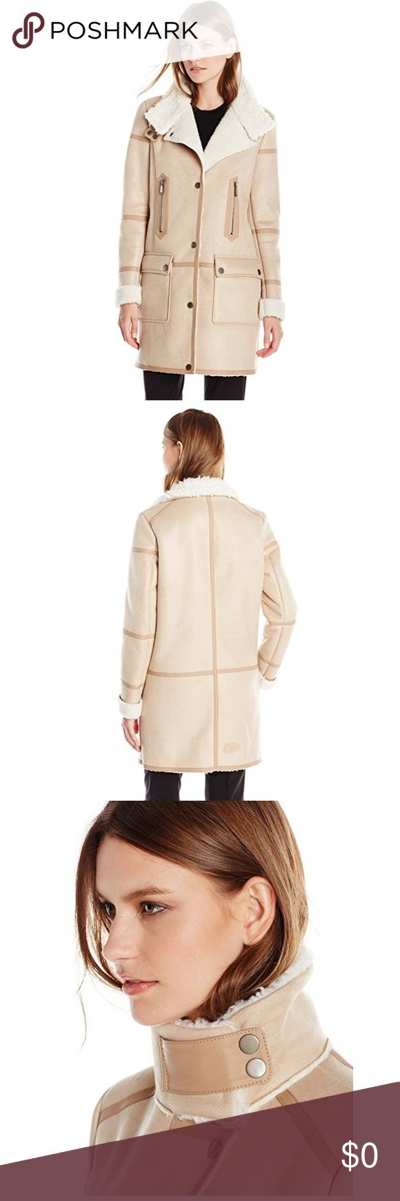 1000  ideas about Faux Shearling Coat on Pinterest | Shearling