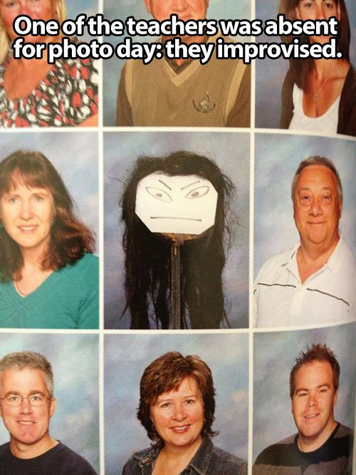 I think this is what they should do for my during our class picture.
