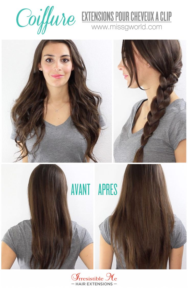 Tuto Coiffure : Extensions cheveux à clip Irresistible Me Hair extensions